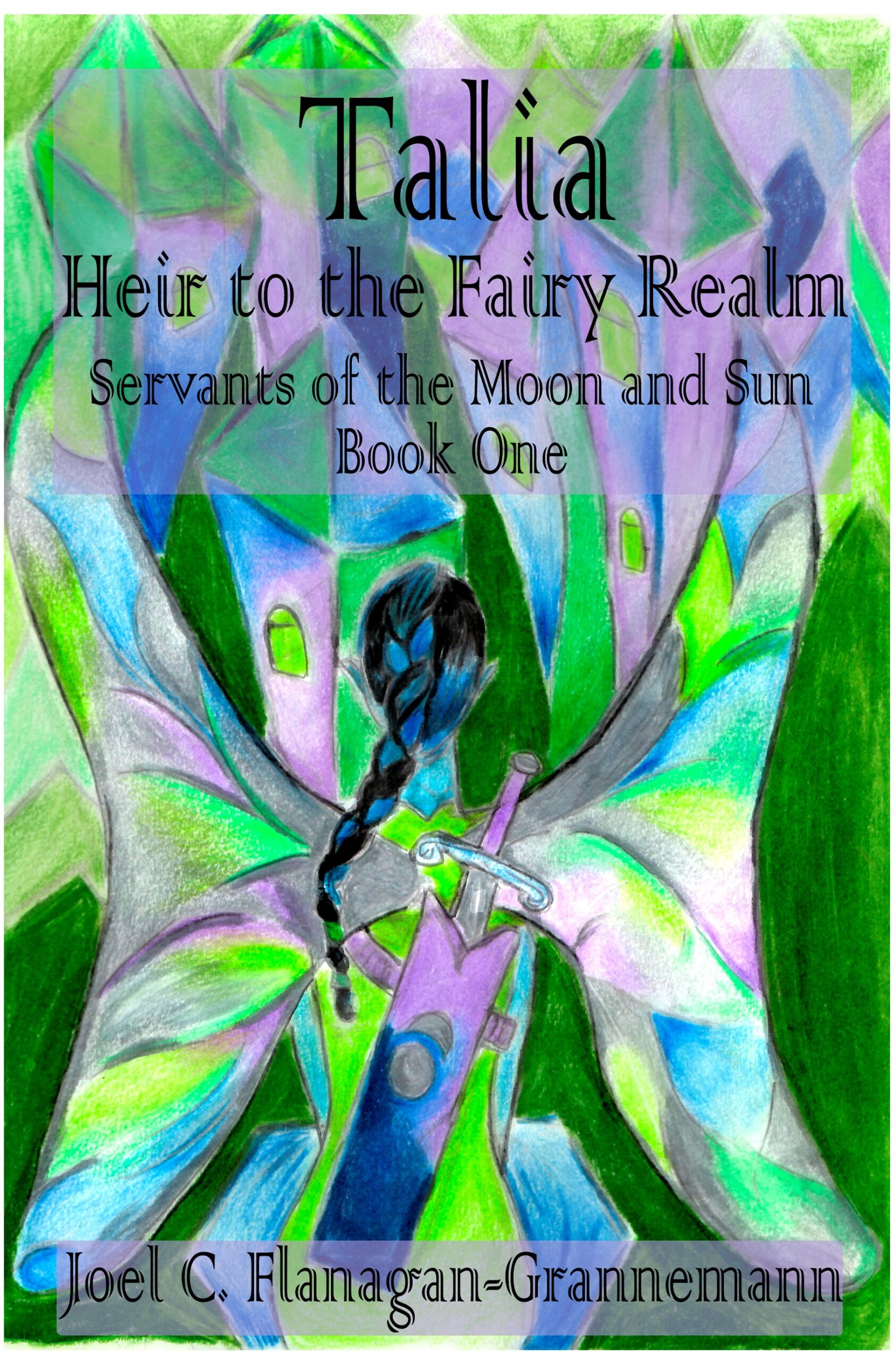 Talia Heir to the Fairy Realm E-Book Front Cover ONLY