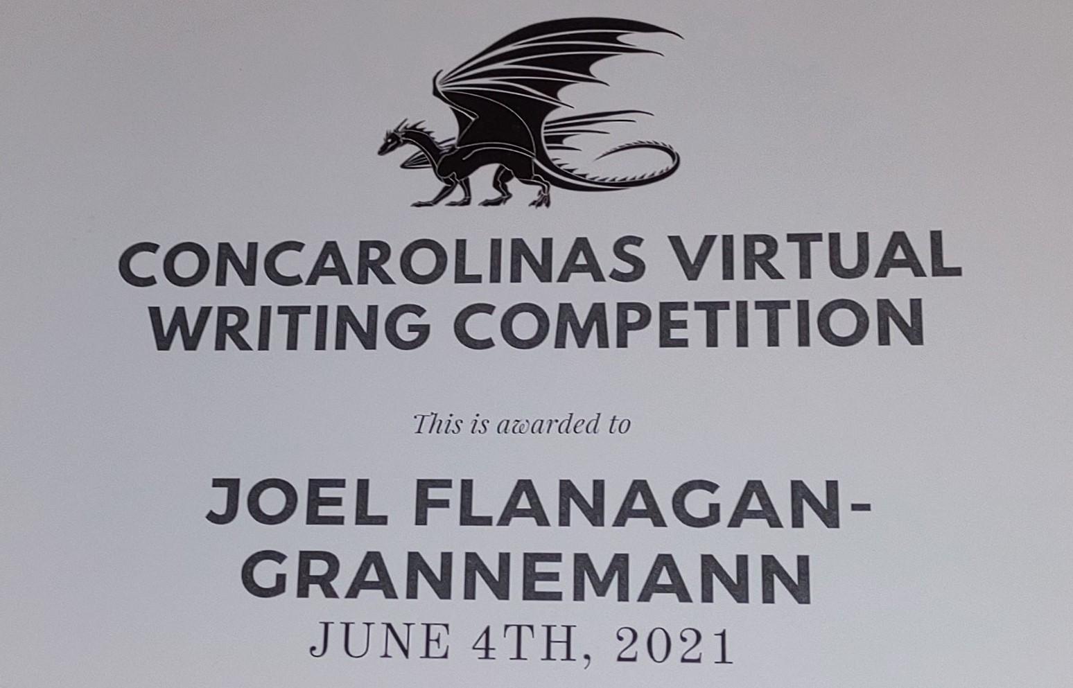 2021-06-04 ConCarolinas 2021 Certificate